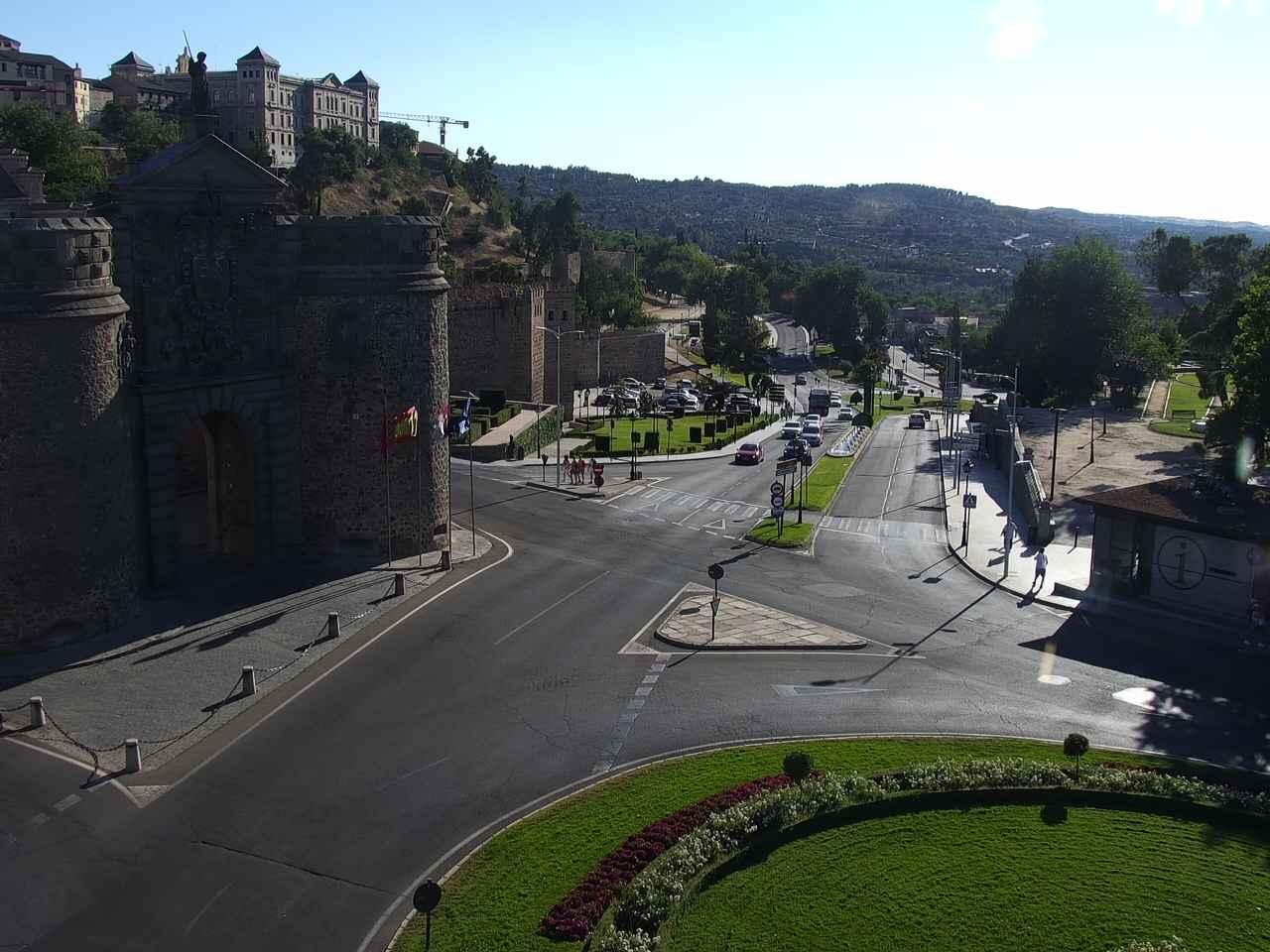 Webcam en la Puerta de Bisagra (Toledo)